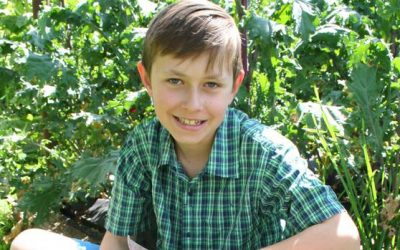 Jamie Frost Wins Central North Island Budding Young Gardener Title