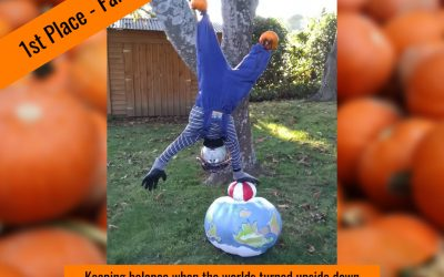 Winners of the 2020 Pumpkin Creation Photo Contest