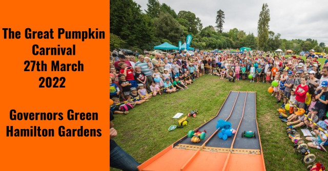 The Great Pumpkin Carnival 2022 Date - 27th March 2022